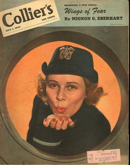 Couverture du magazine Collier's, 1er juillet 1944