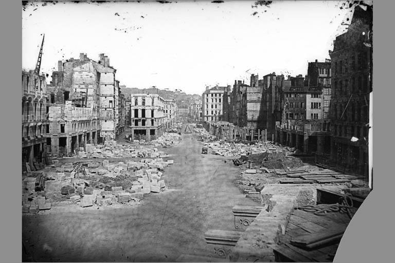 © Photo Archives municipales de Lyon : Grands travaux du Second Empire / 3PH00606 (album photographique de Louis Froissard, photographe du Service municipal de la voirie)